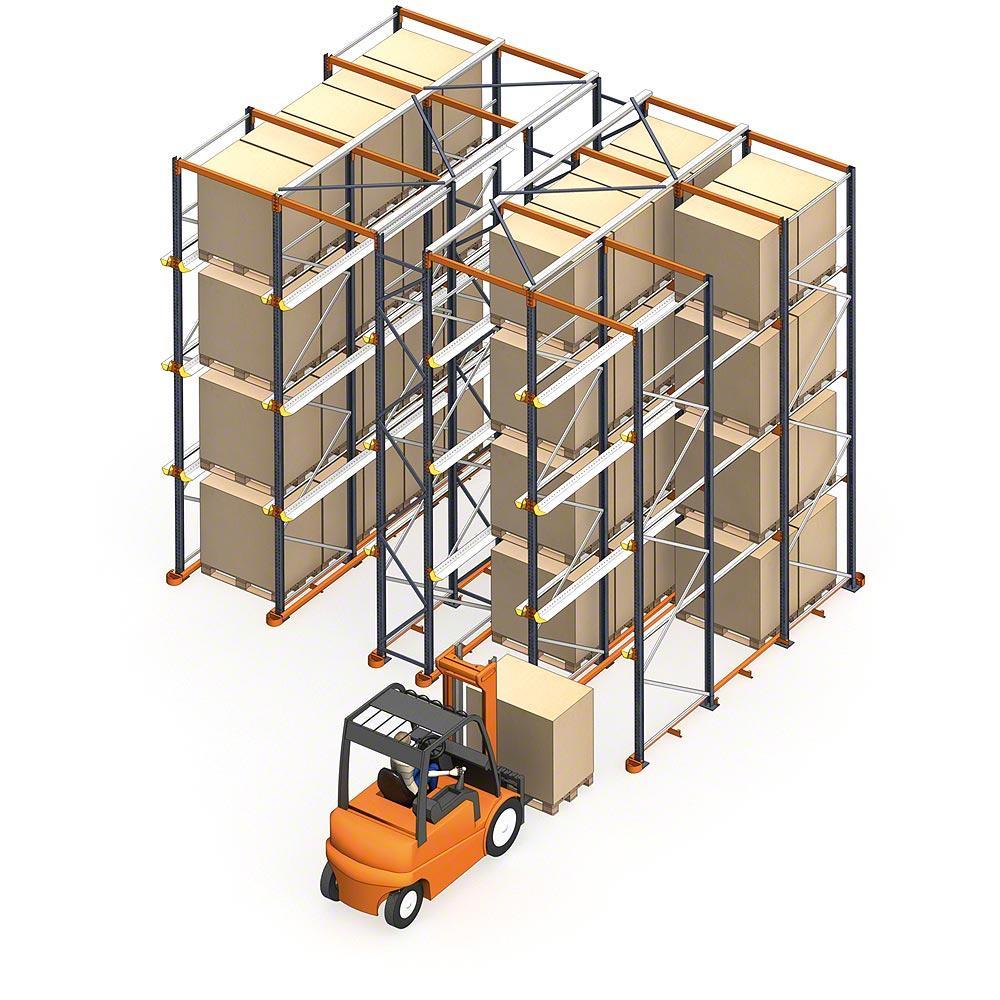 Drive-in racking | drive-in pallet racks | drive-in rack