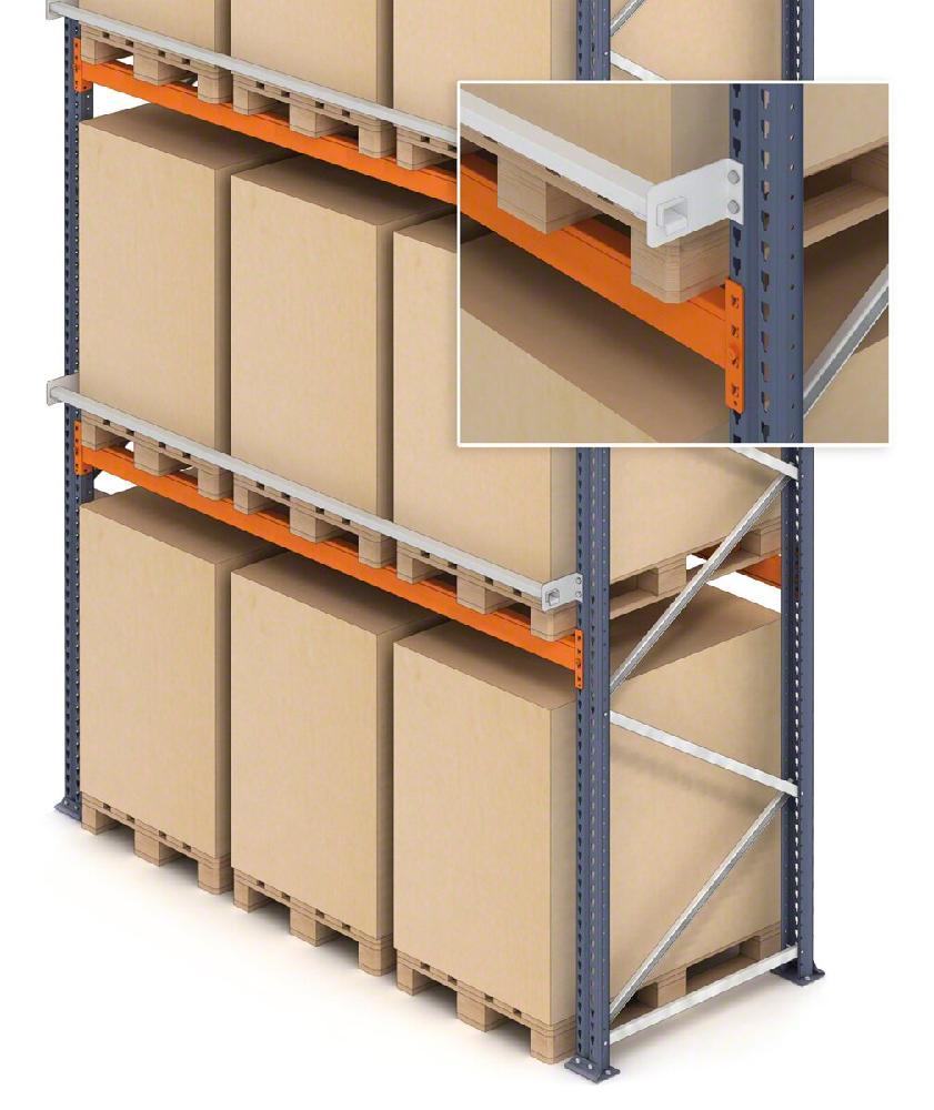 safety profile for goods pallet racks | safety pallet racking system