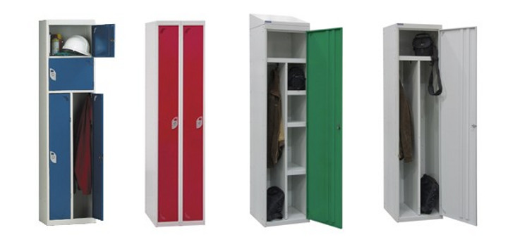 Twin and two person lockers | single lockers | wet room lockers | workplace lockers