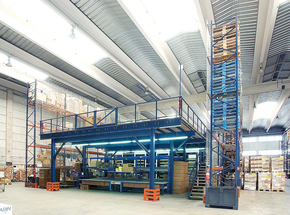 industrial mezzanine floors | manufacturing mezzanine floors | steel mezzanine floors