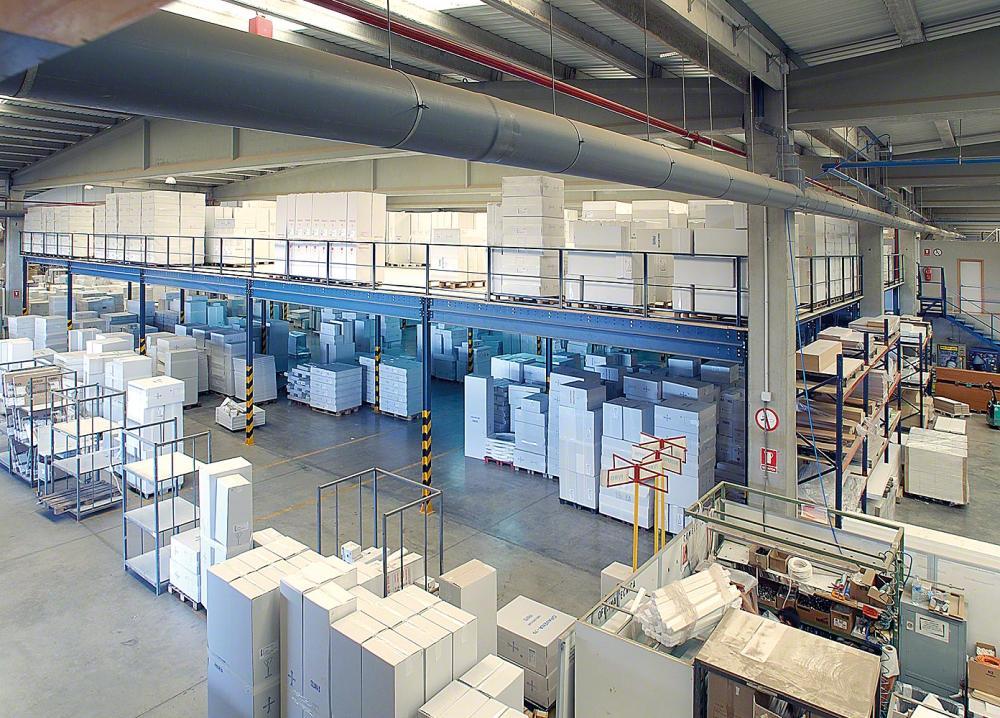 Storage mezzanine floor |  storage mezzanine floors | pallet racking mezzanine floor