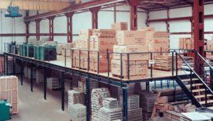 steel mezzanine floor | industrial mezzanine flooring for extending warehouse store space