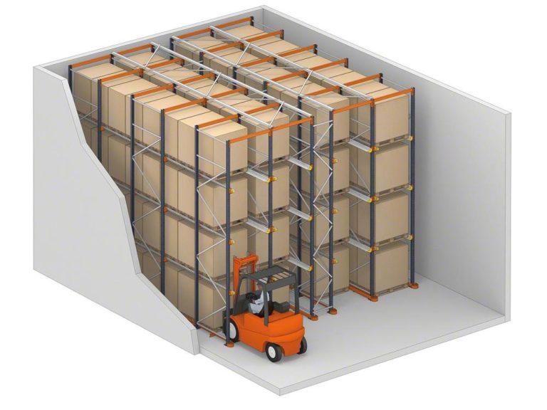 pallet racks | pallet racking sales & installtion company Ireland | Mecalux pallet racking system|