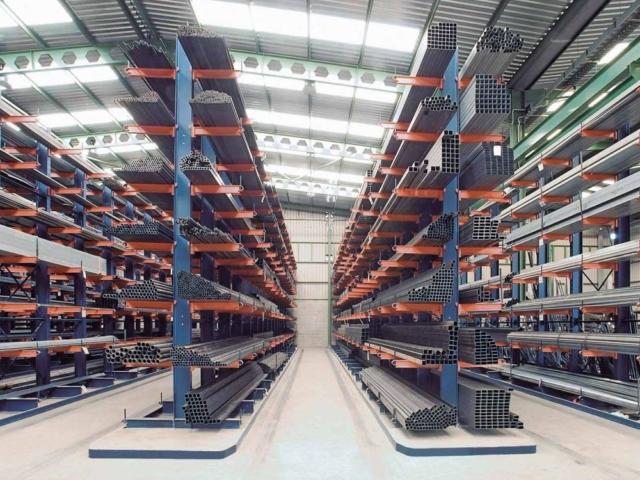 Medium duty cantilever racking and heavy duty cantilever racking   Cantilever rack suppliers and installers Ireland - Fayco