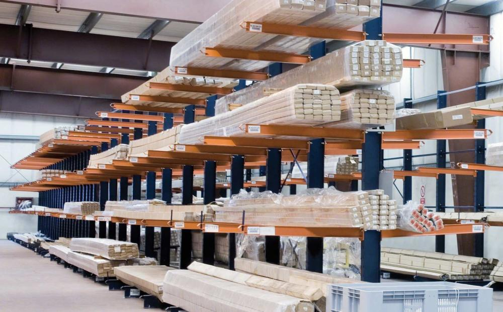 light weight cantilever racks cantilever racking second hand | storage systems for long off sized product storage | used cantilever racking for sale Ireland