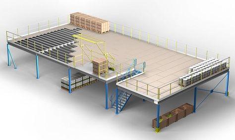 mezzanine flooring prices | storage floors Ireland | mezzanine floor for sale Ireland - Designed and installed by Fayco StorFloor