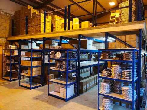 Storage mezzanine floor prices and storage flooring costs that are some of the best prices installed anywhere  in Ireland and the UK