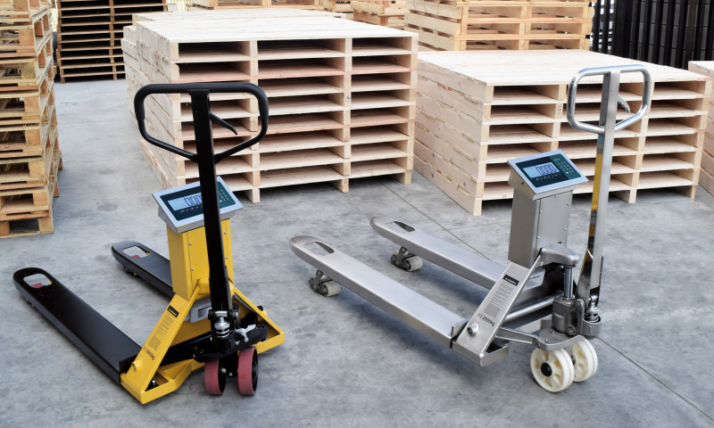 pallet lifter   galvanised pallet truck available from our pallet truck store in Dublin